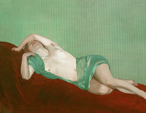 F.Vallotton, Liegender Akt mit... Schal by AKG  Images