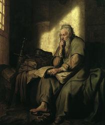 Rembrandt, Paulus im Gefaengnis by AKG  Images