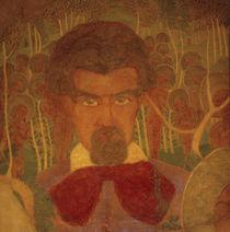 Kasimir Malewitsch, Selbstbildnis 1907 by AKG  Images