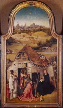 Hieronymus Bosch, Anbetung der Koenige by AKG  Images