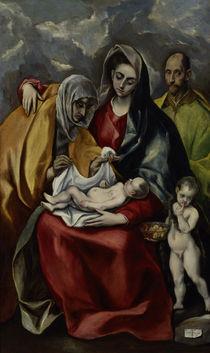 El Greco, Heilige Familie von AKG  Images