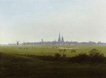 C.D.Friedrich, Wiesen bei Greifswald1815 von AKG  Images