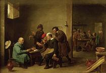 D.Teniers d.J., Gaststube mit Rauchern by AKG  Images
