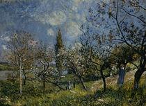 Sisley/ Obstgarten im Fruehling/ 1881 by AKG  Images