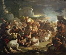 Semiramis in der Schlacht / L.Giordano von AKG  Images