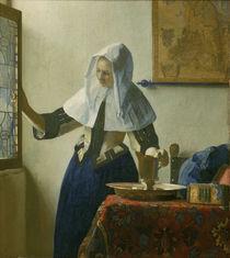 Vermeer, Junge Frau mit Wasserkanne von AKG  Images