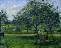 C.Pissarro, Die Schubkarre von AKG  Images