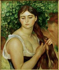 Suzanne Valadon / Gemaelde von Renoir by AKG  Images