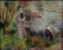 A.Renoir, Am Seineufer bei Argenteuil von AKG  Images