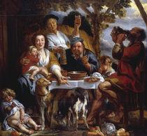 Jordaens,J./Die Breiesser/1640-50 von AKG  Images