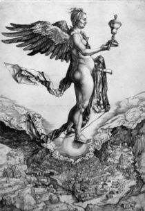A.Duerer, Nemesis oder Das Grosse Glueck by AKG  Images