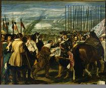 Uebergabe von Breda 1625 / Gem.v.Velazqu. by AKG  Images