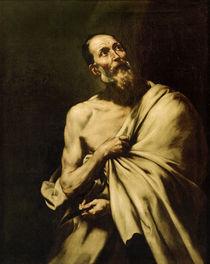 J.de Ribera, der heilige Bartholomaeus by AKG  Images