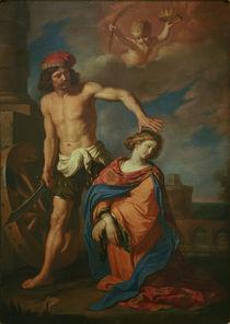 Guercino, Martyrium der hl. Katharina von AKG  Images