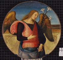 Perugino, Engel der Verk ndigung by AKG  Images