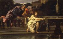 Domenichino, Susanna und die Alten by AKG  Images