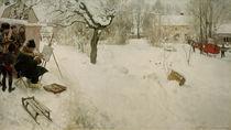 C.Larsson, Der Freilichtmaler von AKG  Images
