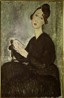 A.Modigliani, Dedie (Odette Hayden) by AKG  Images