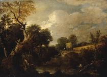 J.Constable, Feld waehrend der Ernte von AKG  Images