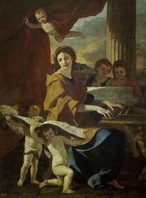 Nicolas Poussin, Hl.Caecilie by AKG  Images