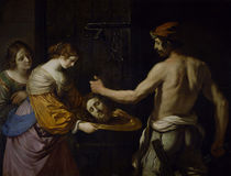Guercino, Salome empfaengt Haupt Johannes von AKG  Images