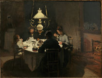 Claude Monet, Das Abendessen by AKG  Images