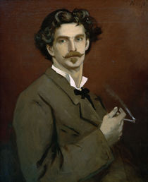 Anselm Feuerbach, Selbstbildnis 1878 von AKG  Images