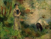 A.Renoir, Auf der Ile de Chatou von AKG  Images