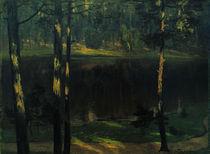 W.Leistikow, Einsamer Waldteich by AKG  Images