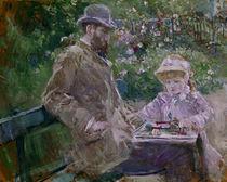 B. Morisot/Eugene Manet und Tochter/1881 von AKG  Images