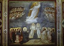 Giotto, Christi Himmelfahrt von AKG  Images