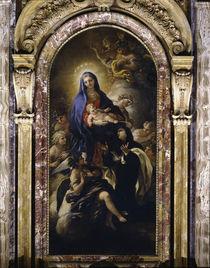 L.Giordano, Madonna u.Maria M.dei Pazzi by AKG  Images