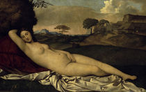 Giorgione, Ruhende Venus von AKG  Images