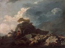 Fragonard, Das Gewitter/ um 1765 von AKG  Images