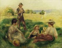 A.Renoir, Landschaft bei Berneval von AKG  Images
