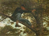 Winslow Homer, Scharfschuetze / 1863 von AKG  Images