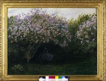 C.Monet, Lilas, temps gris / um 1872-73 von AKG  Images