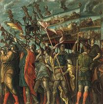 nach Mantegna, Triumph Caesars, Insignien von AKG  Images