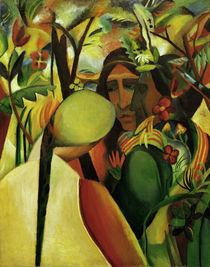 August Macke, Indianer by AKG  Images
