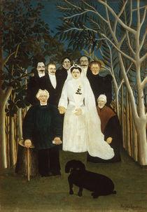 H. Rousseau, Die Hochzeitsgesellschaft by AKG  Images