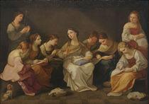 G.Reni, Jugend der Jungfrau Maria von AKG  Images