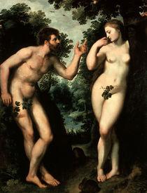 P.P. Rubens, Adam und Eva von AKG  Images