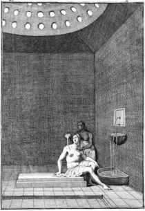 W.Hogarth, Tuerkisches Bad von AKG  Images
