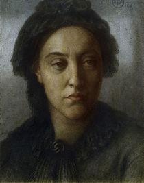 Christina G.Rossetti /Zng.v.D.G.Rossetti by AKG  Images