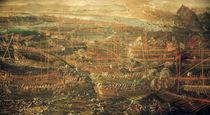 Seeschlacht bei Lepanto 1571 / Tintorett von AKG  Images