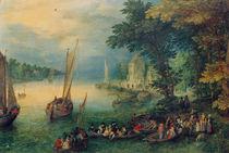 J.Brueghel d.Ae., Flusslandschaft von AKG  Images