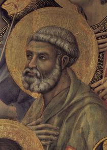 Duccio, Maesta, Petrus by AKG  Images