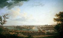 Bayonne, Ansicht / Gem.v.J.Vernet by AKG  Images