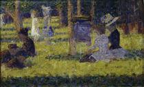 G.Seurat, Studie zu 'Grande Jatte' von AKG  Images