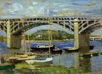 C.Monet, Seinebruecke bei Argenteuil von AKG  Images